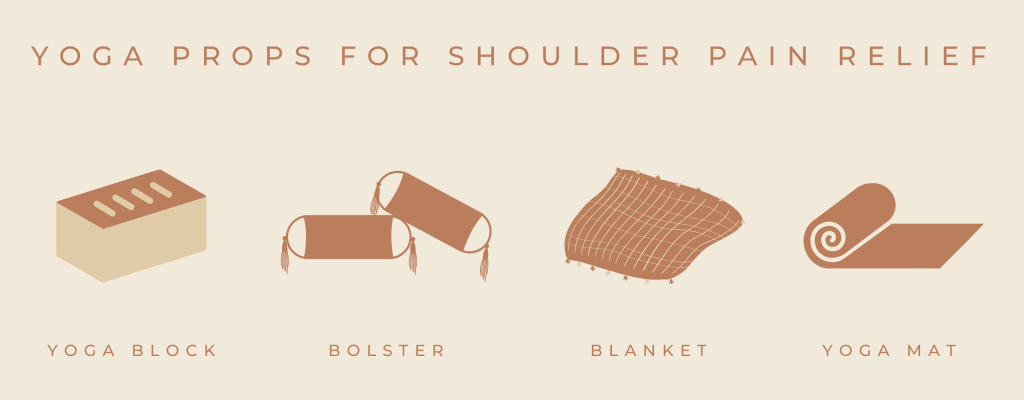 yoga poses for shoulder pain